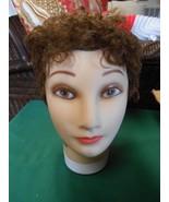 """Burmax"" MANNEQUIN Woman Head Cosmetology Display Human Hair..#4. - $11.47"