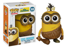 Minions Movie Bob as Cro-Minion Vinyl POP Figure Toy #169 FUNKO NEW NIB - $8.79