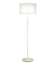 Adesso 6237-02 Oslo Floor Lamps 18in White 1-light - $150.00