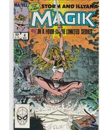 MagiK #4 March 1984 Marvel comics, #4 in a Four-Issue limited series - $15.67
