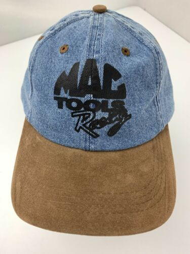 Primary image for Mac Tool Racing Blue Denim Adjustable Adult Ball Cap Hat