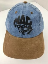 Mac Tool Racing Blue Denim Adjustable Adult Ball Cap Hat - $59.39