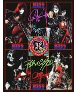 KISS Band 1976 Motorcycle / Chopper Photos Stand-Up Display - Rock Band ... - $16.99