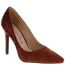 Penny Loves Kenny Women's Opus Baroque Cut Pointed Toe Bronze Velvet Pum... - $39.59