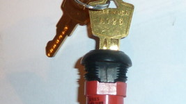 NEW Electrical key C&K 0189 On-Off Ignition Switch 2-position 4A 125VAC ... - $9.90