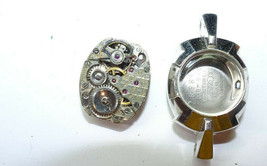 LE COULTRE 17 JEWEL WOMENS WATCH MOVEMENT AND 10KT GOLD FILLED CASE FOR... - $130.62