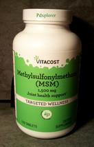 Fresh! MSM Methylsulfonylmethane 1500 mg, 120 Tablets Joint Health - $12.90