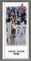 1996 Cleveland Indians Media Guide MLB Baseball - $18.70