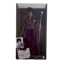 Barbie Inspiring Women Series Ella Fitzgerald Collectible Doll New Sealed - $25.73