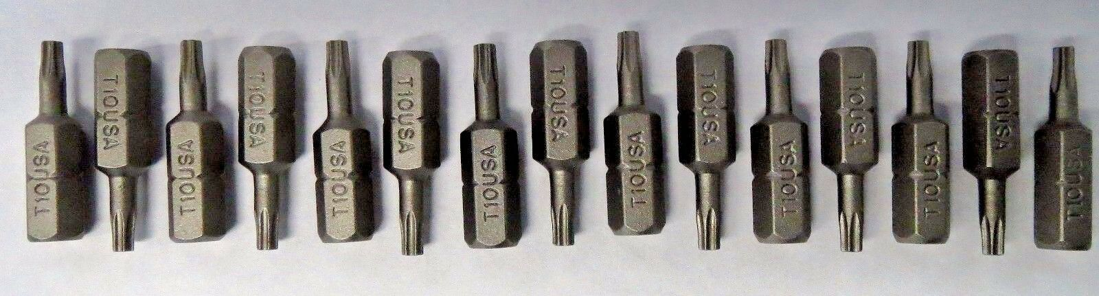 "Primary image for Bosch T10 x 1"" Insert Bits Screw Tips 15pcs. 9915370 USA"