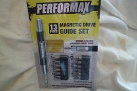 """13 Piece Magnetic Screw Guide Insert Bit Set With 4"""" Guide - $11.88"""