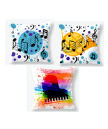 Aarush1 Musical Notes Throw Pillow Covers Set Of 3 Music Piano Keys - $7.99