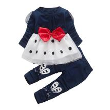 2pcs baby kid girls t-shirt + pants outfit clothes - $13.00+