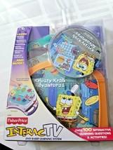 Fisher Price Sponge Bob Square Pants Krusty Krab Adventure Interac Tv - $15.83