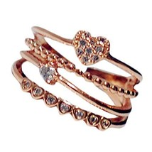Ring Ring More Fastness Of Anti-oxidation Rings 16mm Diameter(The Love Style)