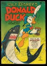 Donald Duck Magic HOURGLASS-FOUR Color Comics #291 1950 Vg - $119.80
