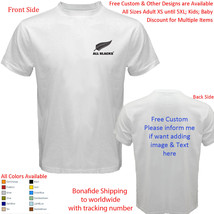 New Zealand Rugby The Silver Fern 1 Shirt All Size Adult S-5XL Youth Tod... - $20.00+