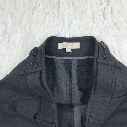 Ann Taylor Loft Women's Size 2 Dark Gray Boot Leg Dress Pants  image 5