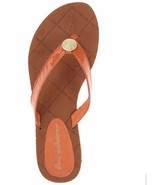 Tommy Bahama Havana Patent Leather Beach Thong Flip Flops Sandals Poppy ... - $29.75