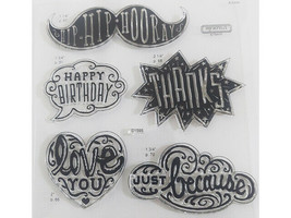 Close to My Heart Cloud Nine Clear Stamp Set #D1595 image 2