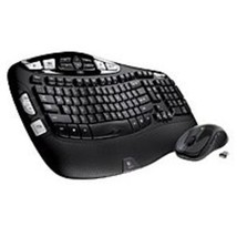 Logitech 920-002555 MK550 2.4 GHz Wireless Keyboard, Mouse - Laser - USB... - $75.34