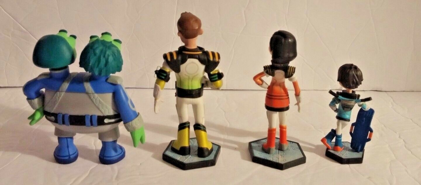 Disney Store Miles From Tomorrowland Figurine Playset figures Cake Toppers Lot 4