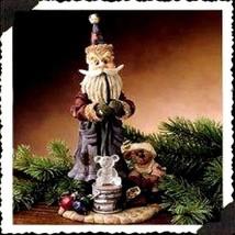 "Boyds Bears Folkstone ""Ludwig Puffenhuff..Ornament Maker"" #28005 -NIB- 2000- Ret - $29.99"