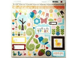 Echo Park A Walk in the Park Scrapbook Collection Kit #WP2016 image 2