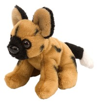 Wild Republic Lil' Cuddlekins African Wild Dog Plush - $8.90