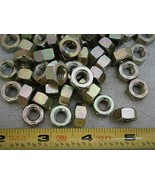 Hex Nuts 5/16-18 Steel Zinc Plated LOT of - 50#5473 - Quality Assurance ... - $24.09
