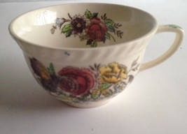 Vintage Ceramic Teacup Made in England - Floral Pattern - $12.58