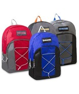 """Trailmaker 17 Inch Bungee """"Pop Bungee"""" Backpack New With Tags - $9.85"""