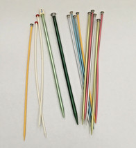 vintage 14  mixed knitting needle lot - $19.75