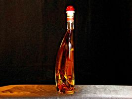 Gourmet Art of Vermont Exotic Dipping Oil in decorative blown glass container AA image 5