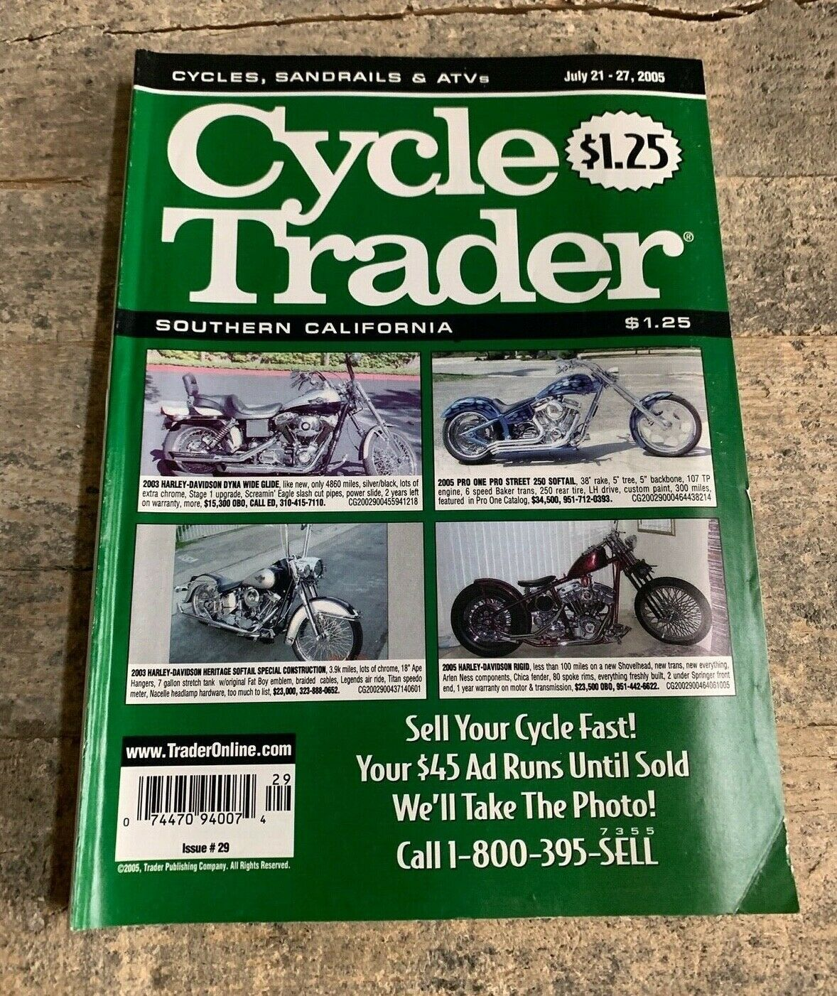 Primary image for Cycle Trader Sandrails, Atv's + Motorcycles Southern California July 21-27 2005