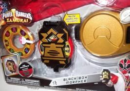 ✰✰ ON SALE! ✰✰ Power Rangers Samurai Electronic Black Box Morpher MOC Sa... - $99.99