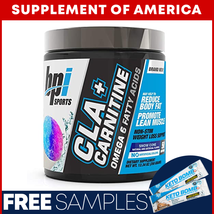 "BPI CLA + CARNITINE Popular Non-Stim Weight Loss ""FREE SHIPPING"" ""2 SIZES"" - $23.48"