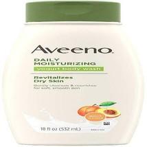 2 Pack - AVEENO Active Naturals Daily Moisturizing Yogurt Body Wash, Apr... - $37.95