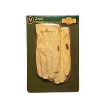 Plainsman Cabretta Leather Gloves - Medium - 2 Pair