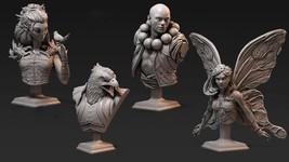 Discount - Bundle - Set - Forest - Ancient - 3D - Printed HQ - Resin Miniature - - $70.00