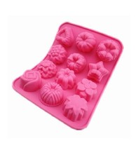 Flower Shaped Birthday Party Silicone Non Stick... - $3.75