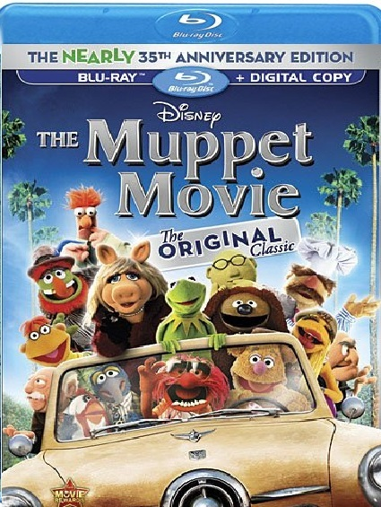Disney Muppet Movie The Nearly 35th Anniversary Edition (Blu-ray)
