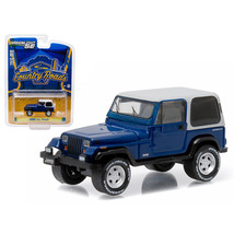 1990 Jeep Wrangler YJ Country Roads Series 14 1/64 Diecast Model Car by ... - $14.51