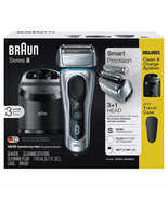 Braun Series 8 Electric Shaver Model # 8370cc Sonic Technology Wet & Dry Shave - $185.00