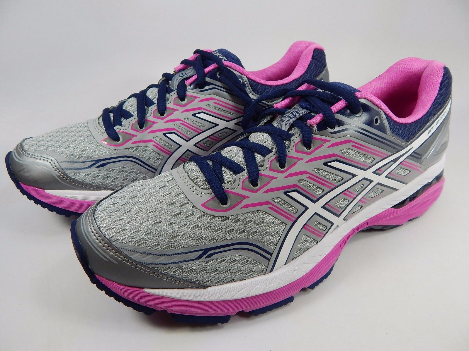 Asics GT 2000 v 5 Women's Running Shoes Size US 10 2A NARROW EU 42 Silver T760N