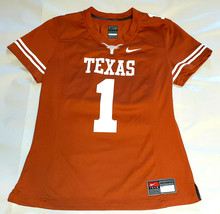 NIKE #1 TEXAS ORANGE Authentic Texas Longhorns Game Jersey Size: Small - $74.25