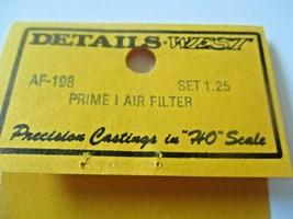 Details West # AF-198 Rrime I Air Filter Set  HO-Scale image 2