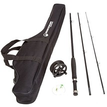 Wakeman Charter Series Fly Fishing Combo with Carry Bag - Black - 80-FSH... - $37.65 CAD