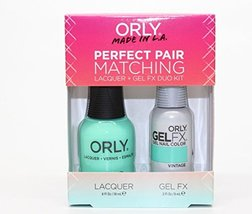 Orly Perfect Pair Matching Nail Polish + Gel FX Combo 2ct/pk (30867 - Vi... - $18.95