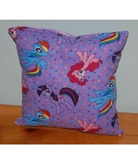 My Little Pony Pillow  HANDMADE Cotton / Flannel Toddler ,Travel  NEW Pi... - $9.99
